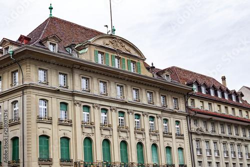 Historical building facade Canvas
