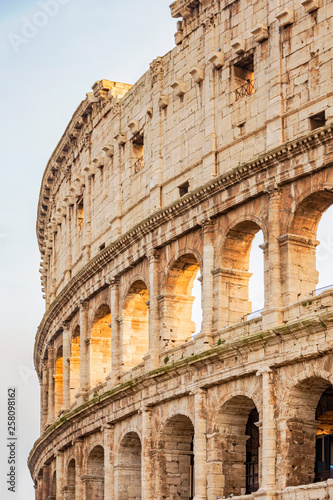 Colosseum stadium building in Rome Wallpaper Mural