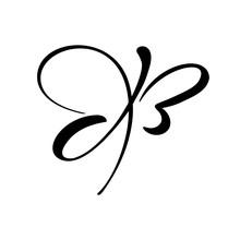 Hand Drawn Calligraphy Logo Of...