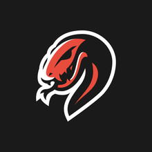 Snake Logo Emblem