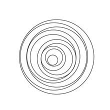 Circular Spiral Sound Wave