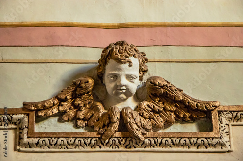 Closeup of an architectural detail Canvas-taulu