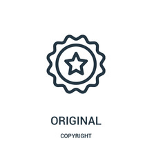 Original Icon Vector From Copy...