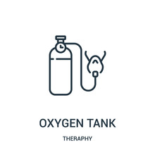 Oxygen Tank Icon Vector From T...