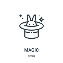 Magic Icon Vector From Event C...