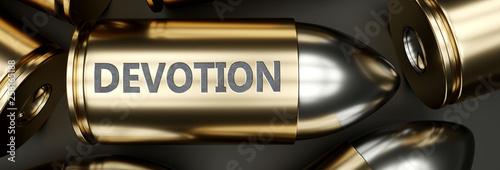 Fotografia  Devotion as a killer feature, main trait and most important attribute - power of