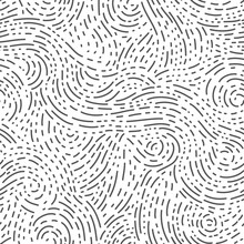 Vector Pattern Of Tiny Lines And Dots