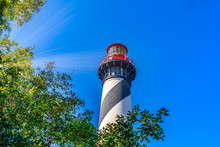 Sunrays In Saint  Augustine Lighthouse