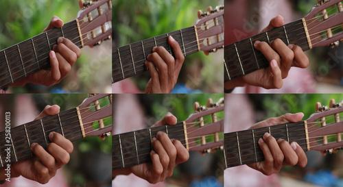 set guitar chord - 258200113
