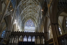 Inside York Minster - Yorkshir...