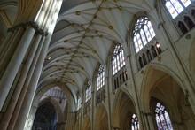 Inside York Minster, Yorkshire...