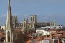 Views Of York Minster, Yorkshire, England, UK