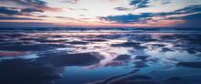 Sunset On Porthtowan Beach Cor...