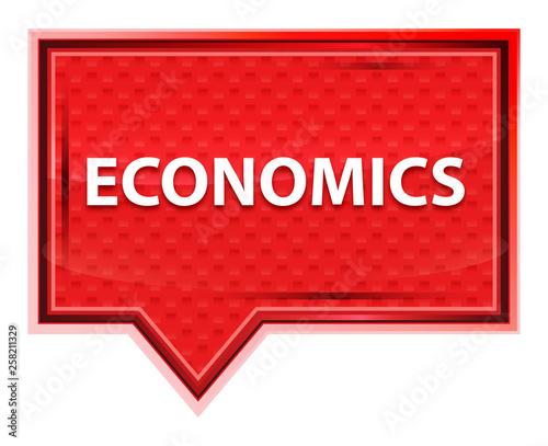 Fotografía  Economics misty rose pink banner button