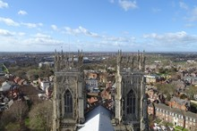Aerial Views Of York From Mins...
