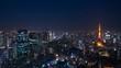 東京夜景・タイムラプス・2019