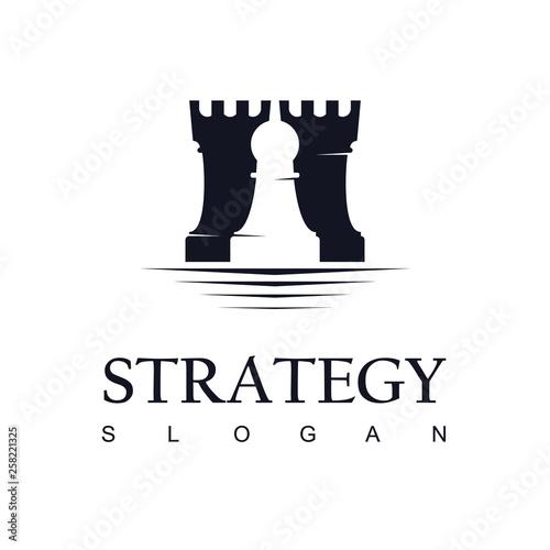 Foto Chess Logo Design Inspiration