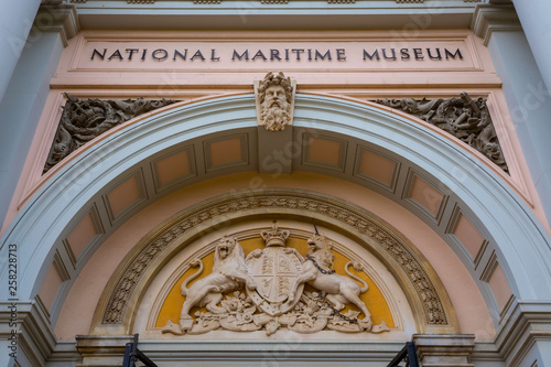 The National Maritime Museum in Greenwich, London, UK Poster Mural XXL