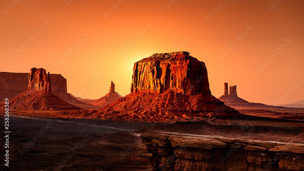 Fototapety, obrazy: Monument Valley