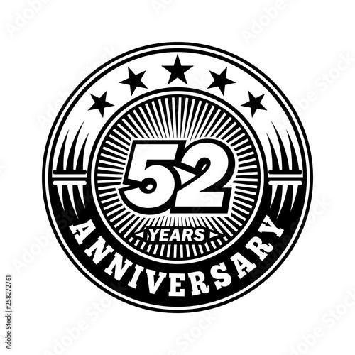 Fotografia  52 years anniversary