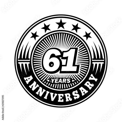 Fotografia  61 years anniversary