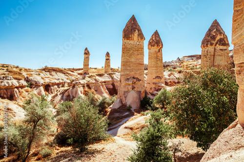 Fototapeta  Love Valley in Cappadocia.
