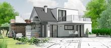 Esquisse De Maison Par Architecte