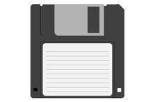 Retro Diskette. Floppy Disk Fo...