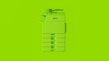 Lime Green Office Large Printe...