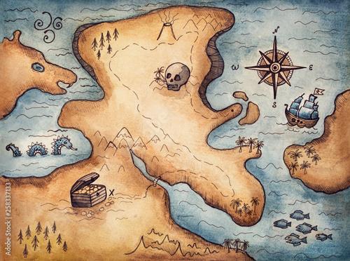 Photo Pirate map
