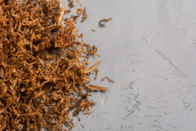 Pile Tobacco, Chopped Dry Toba...