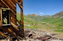 Historic Colorado Gold Mine Remains High In The Rocky Mountains