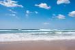 Beautiful beach and tropical sea and blue sky, phuket, thailand
