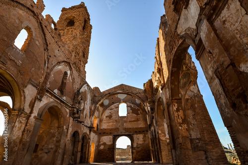 In de dag Palermo The ruins of Belchite - Spain