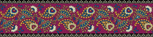 Traditional Paisley Colorful B...