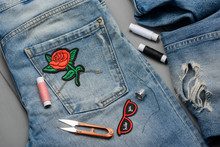 Applying Embroidered Patches T...