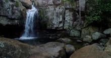 Little Crystal Creek Waterfall...