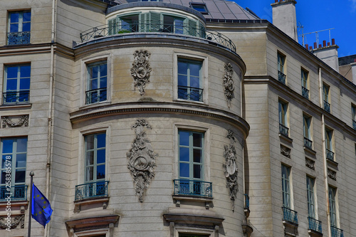 Paris; France - april 2 2017 : boulevard des Capucines Wallpaper Mural