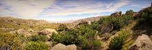 Panorama Photo Of Anza Desert California