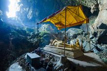 Tham Poukham Cave Blue Lagoon,...
