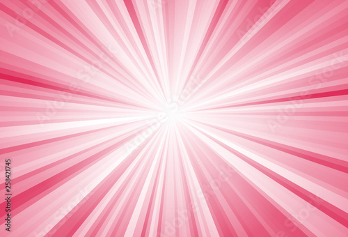 Photo  Abstract ray burst background, glow effect, comix