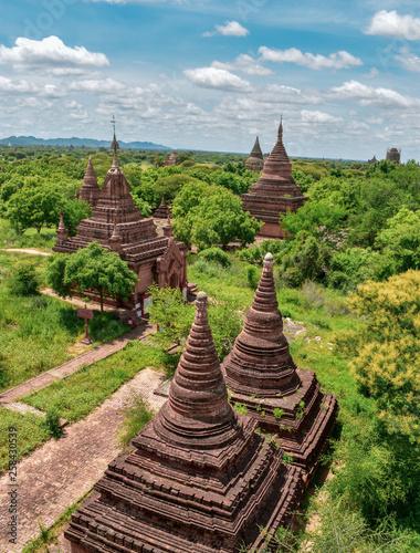 Obraz na płótnie pagoda in bagan