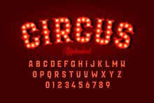 Circus Style Font Design, Alph...
