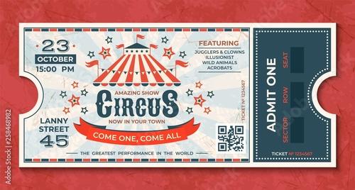 Fotografía  Circus tickets