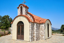 Small Chapel With A Tiled Roof
