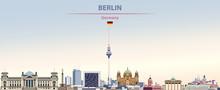 Vector Illustration Of Berlin ...