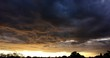 Turbulent Colorful Sunset Clouds Time Lapse 2160p 25fps