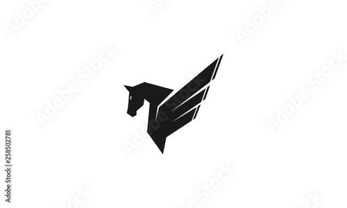 Fotografie, Obraz Horse vector