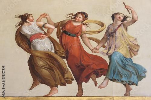 Canvas-taulu Palazzo della Consulta a Roma