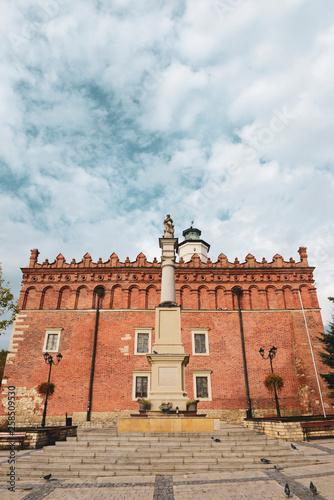 Fototapety, obrazy: Ratusz w Sandomierzu